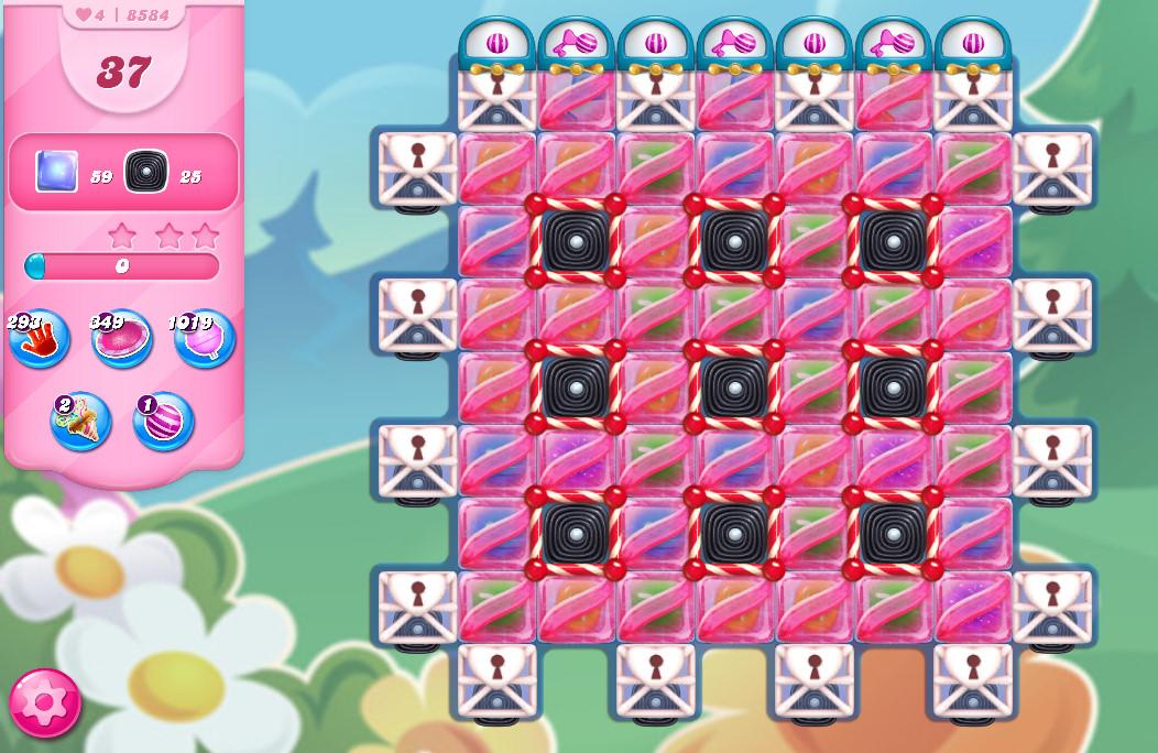 Candy Crush Saga level 8584