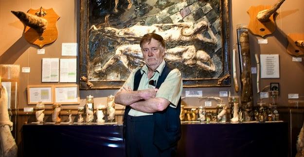Sigurður Hjartarson, founder of the Icelandic Phallological Museum