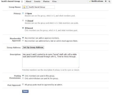 How to create a for sale group on Facebook