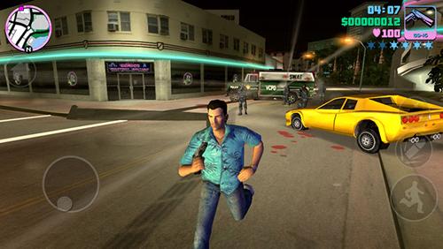 Trong Vice City bạn không bao giờ được lơ là những tên cảnh sát