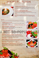 Red Garlic Soup and Salad Menu and Prices