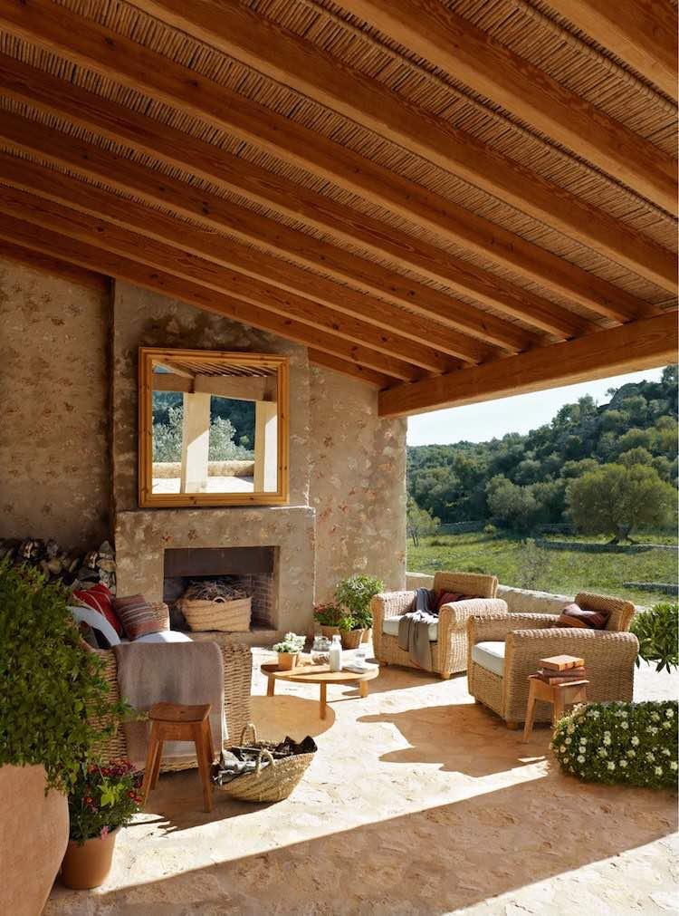 Una Pizca de Hogar: Terrazas y balcones libres de sol ¡4 ideas para ...