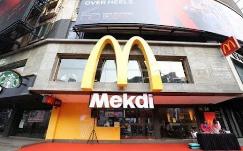 Restoran 'Mekdi' suntik elemen lokal, hanya di Bukit Bintang sahaja!