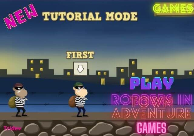 Free Play Robbers in Town Adventure Games | Action Games for Kids