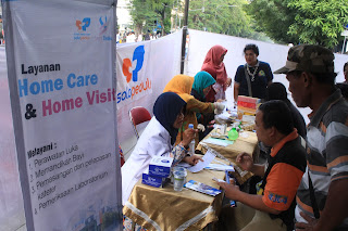 Klinik Solopeduli Gandeng Kerjasama dengan Alumni Unisri Gelar Baksos di Car Free Day