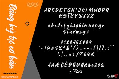 Font SVN-Wellfont việt hóa