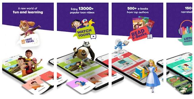 Download Voot Kids, Watch, Read, Listen and Learn Mobile App