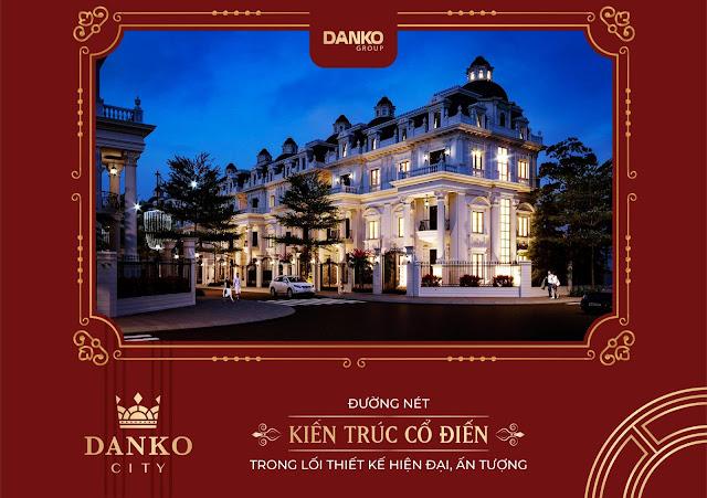 kiến trúc cổ điển danko city thái nguyên