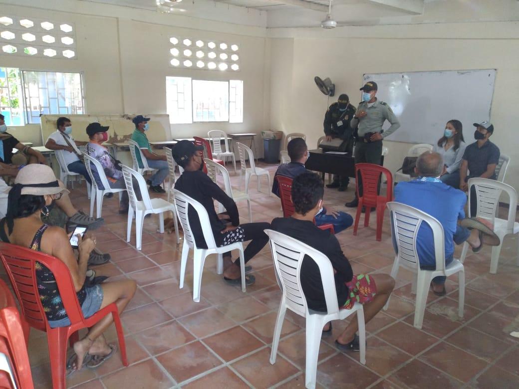 https://www.notasrosas.com/Policía Nacional lidera jornada sobre Protección de la Fauna y la Flora en Dibulla - La Guajira