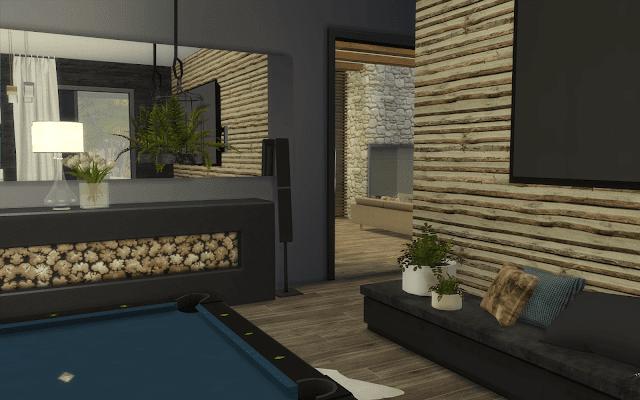 salle de jeux sims 4