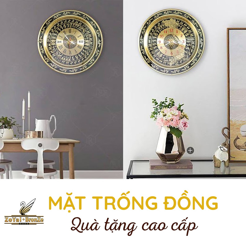[A117] Gợi ý địa chỉ mua tranh trống đồng treo tường tại Hà Nội