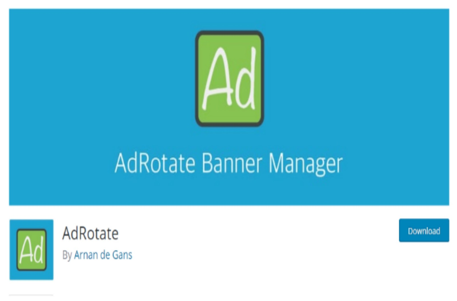 Ad Rotate WordPress Plugin