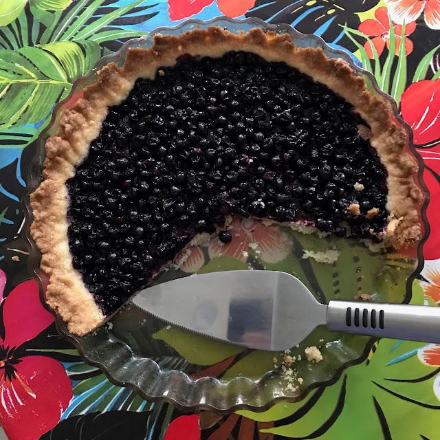 svartvinbärspaj