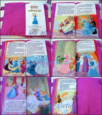 My Major Cutie Pillow Book Sleeping Beauty The Wedding Gift