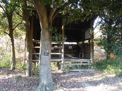 交野いきものふれあいの里 観察小屋
