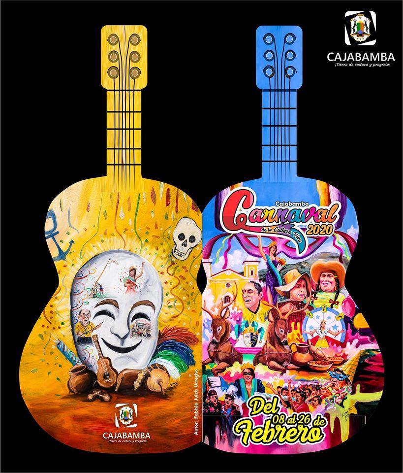 Programa Oficial de carnavales 2020 Cajabamba
