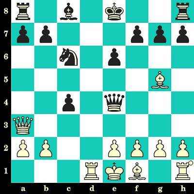 Les Blancs jouent et matent en 2 coups - Georgios Efthimiou vs V Siametis, Mitilini, 1996