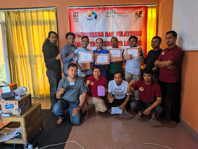 Sertifikasi Training Leader SP Linfox 2019