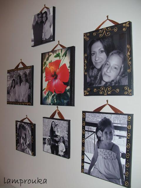 Ο πιο εύκολος τρόπος για να διακοσμήσουμε καμβάδες με φωτογραφίες