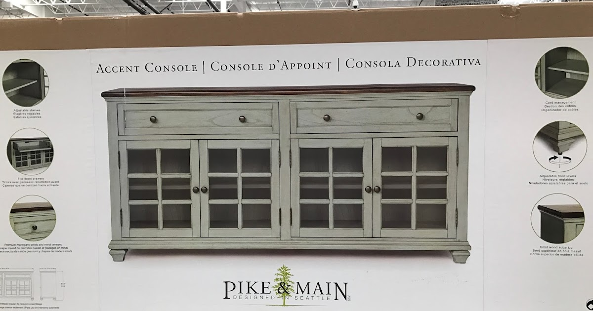Pike Amp Main Accent Console Costco Weekender