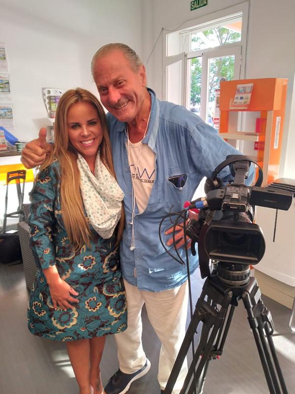 Viviane Alves e Oscar Horácio