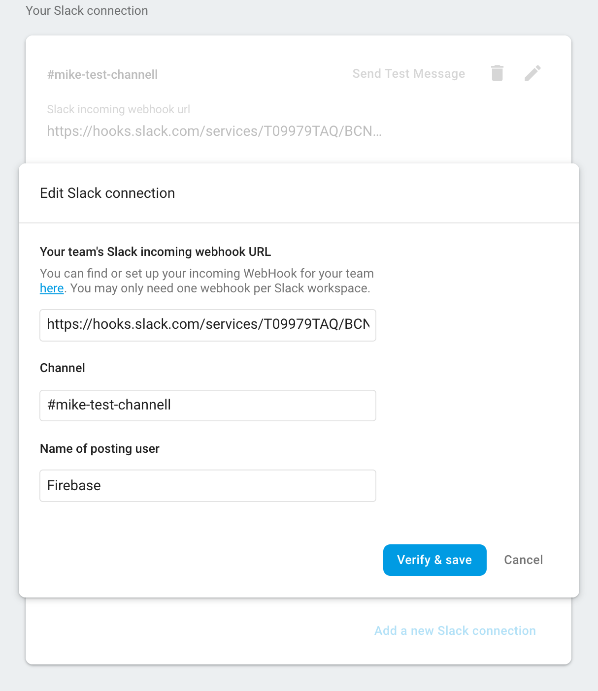 image of slack connection configuration