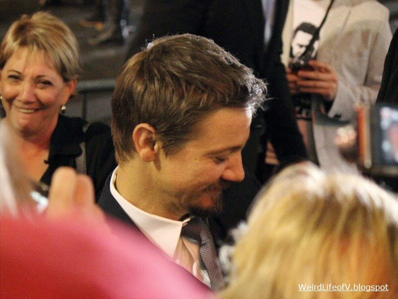 Jeremy Renner at the Thor: The Dark World premiere