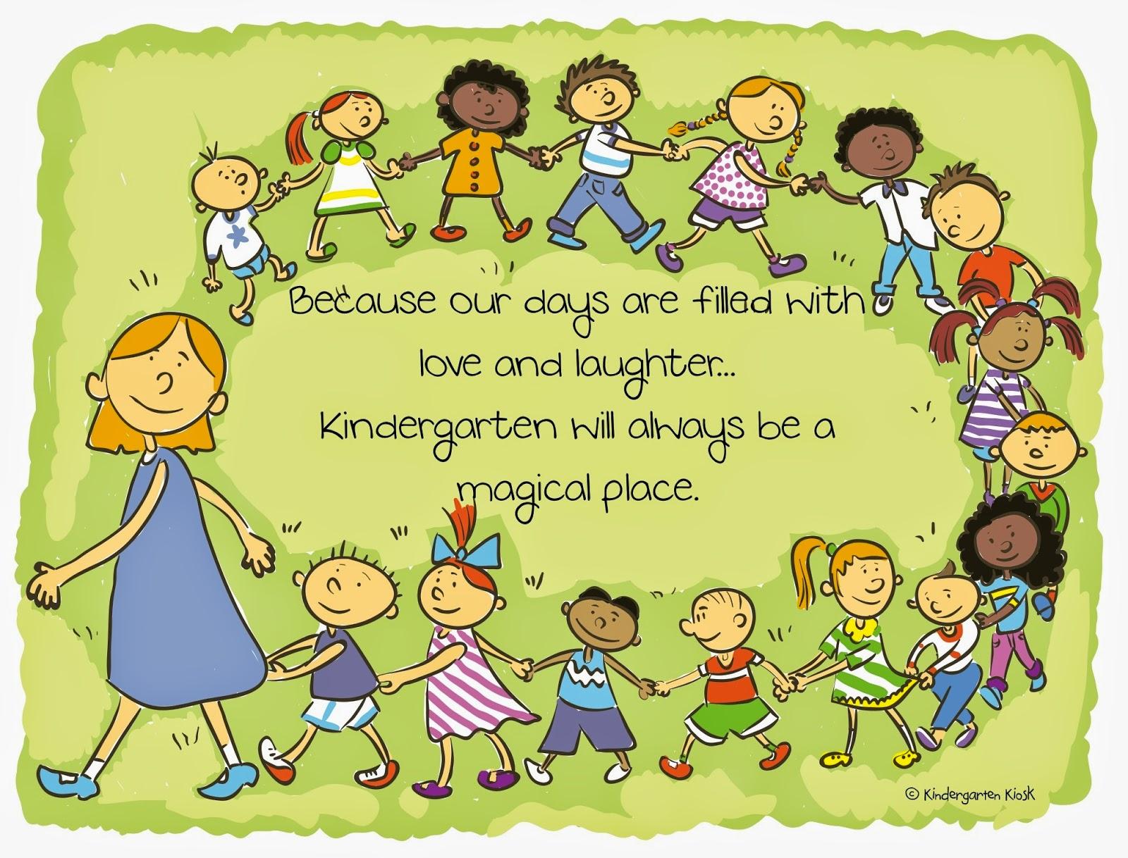 Kindergarten Kiosk The Joys Of Kindergarten