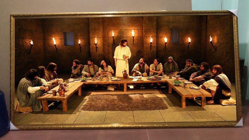 Tranh Treo Tường Công giáo Khổ Lớn Tranh Tiệc Ly