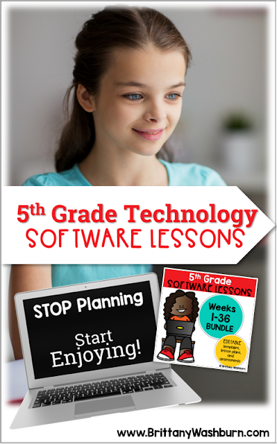 These Spiral Review software lessons for 5th grade teach presentation, word processing, and spreadsheet software over 3 sets 12 sessions.