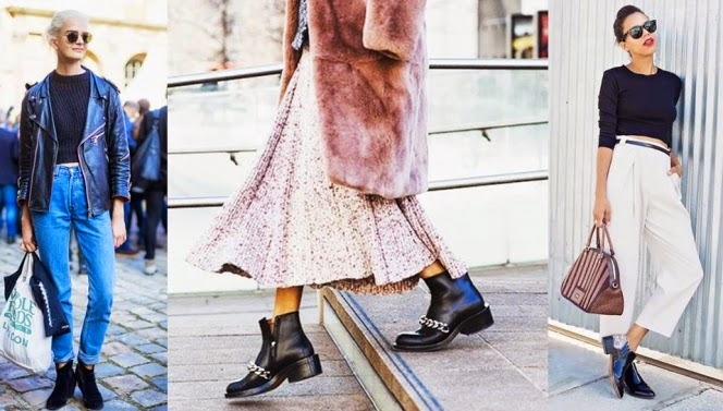 Mαύρα ankle boots  20 τρόποι να τα φορέσεις και την άνοιξη ... 1ce2cff6047