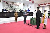 I Wayan Suta Dari Partai Gerindra Resmi Jadi Anggota  DPRD Luwu Utara