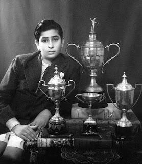 Raj Kapoor in childhood