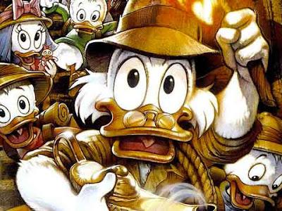 Zio Paperone alla ricerca della lampada perduta, lo spin off ''Ducktales''