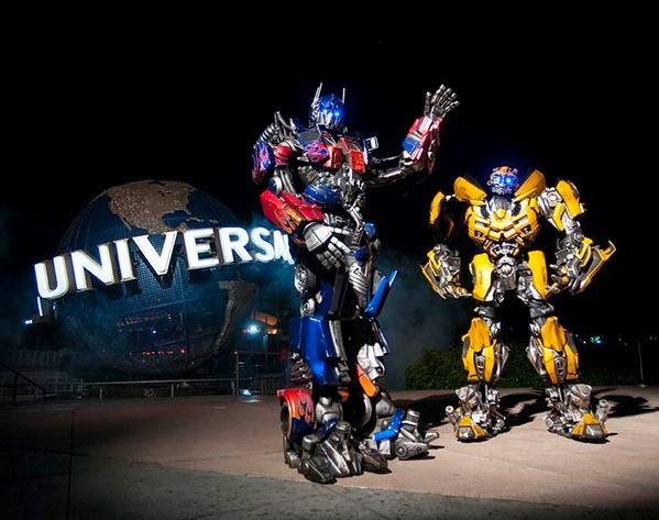 Ride the Movies: TRANSFORMERS: The Ride | Warped Factor ...  Ride the Movies...