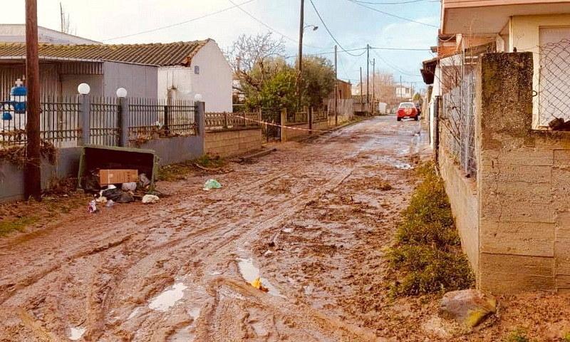 Καταγραφή ζημιών από τις πλημμύρες στο Δήμο Αλεξανδρούπολης