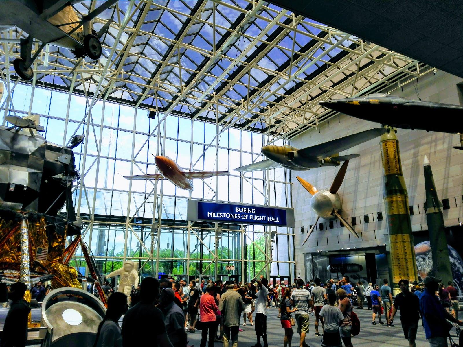 【ワシントンDC】周りきれなかったスミソニアン航空宇宙博物館(Air and Space Museum)