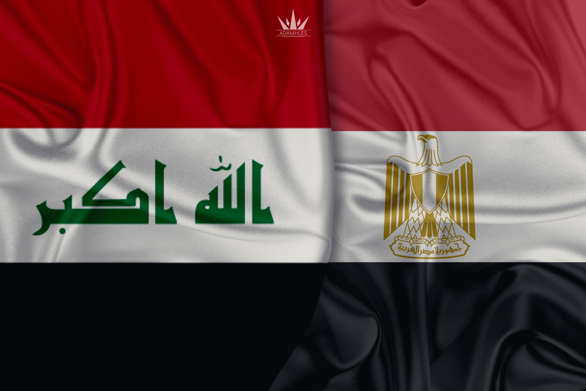 خلفية علم العراق ومصر اجمل خلفيات العلم العراقي والعلم المصري Iraq and Egypt