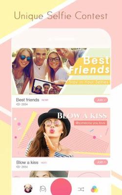تحميل برنامج اخد صور سيلفي ، افضل برامج الصور للاندرويد، تحميل سويت سيلفي ، sweet selfie android
