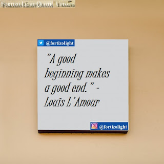 Quote by Louis L'Amour