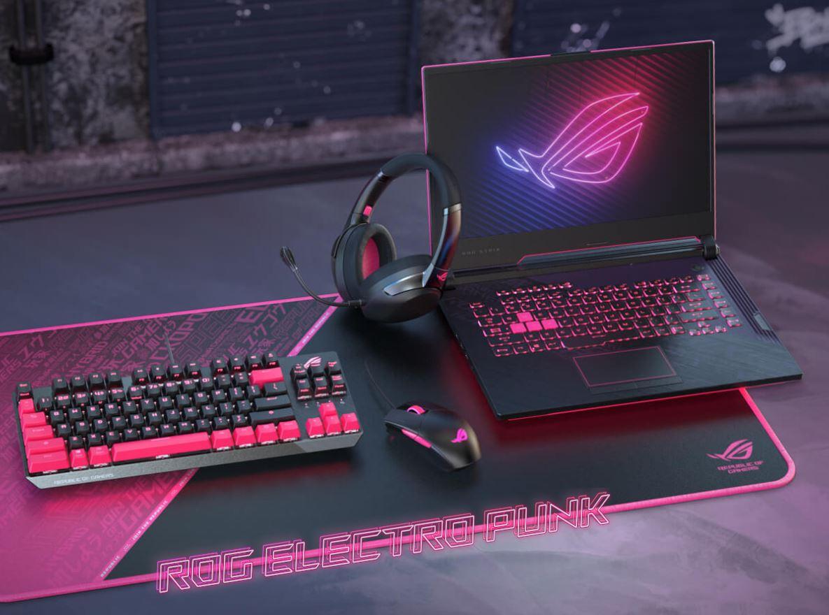Asus ROG Strix G15 Electro Punk Edition, Laptop Gaming Nyentrik dengan Sentuhan Warna Pink