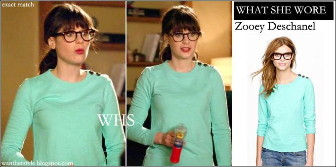 bfa26732ab WHO  Zooey Deschanel as Jess on