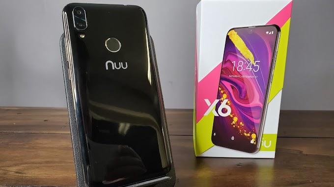 Sorteio de um smartphone NUU Mobile X6