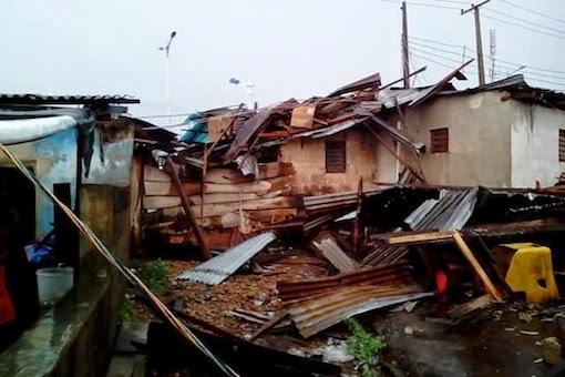 heavy rainfall abeokuta ogun state