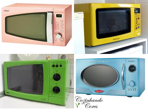 Resultado de imagem para microondas colorido