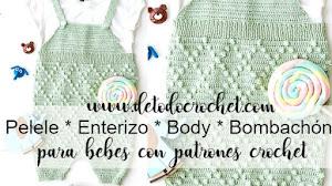 Pelele o enterizo para bebés / Patrones