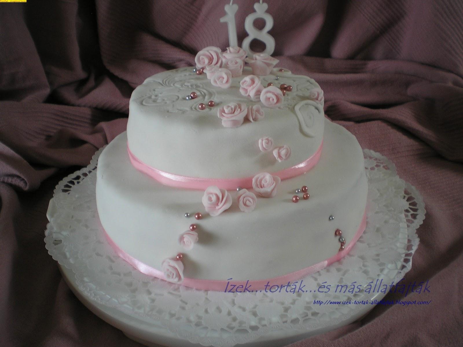 18 szülinapi torta Ízektortákés más állatfajták: Fehércsokis epres születésnapi  18 szülinapi torta