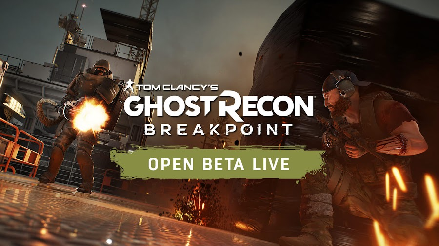 ghost recon breakpoint open beta live ubisoft pc ps4 xbox uplay tom clancy shooter