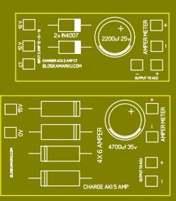 Cara Membuat Charger Aki Motor dan Mobil yang simple