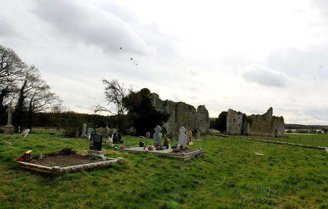 Graves at Ballyboggan Abbey, County Meath